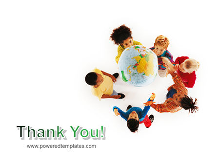 Kids Around Globe PowerPoint Template Slide 20