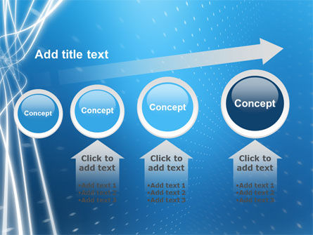 Blue Lines PowerPoint Template Slide 13