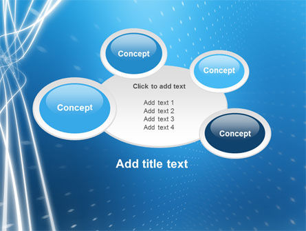Blue Lines PowerPoint Template Slide 16