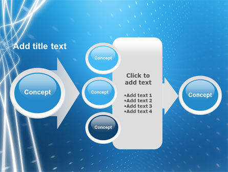 Blue Lines PowerPoint Template Slide 17