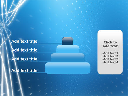 Blue Lines PowerPoint Template Slide 8