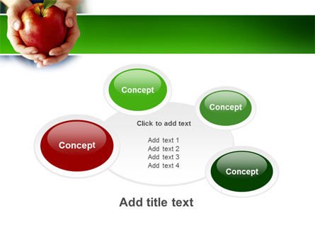 Apple In Hands PowerPoint Template Slide 16