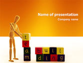 Consulting: Team Building PowerPoint Template #02993