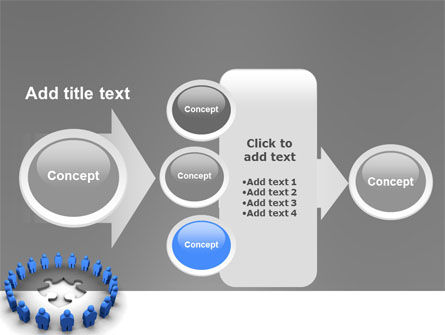 Circle PowerPoint Template Slide 17