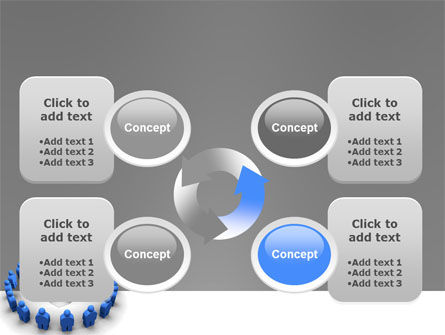 Circle PowerPoint Template Slide 9