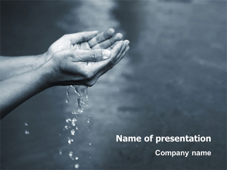 Nature & Environment: Water PowerPoint Template #02995