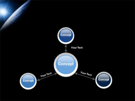 Earth From Space PowerPoint Template Slide 14