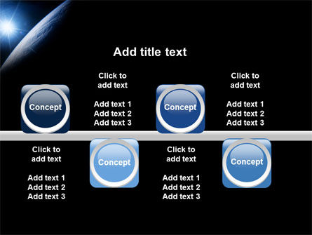 Earth From Space PowerPoint Template Slide 19