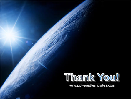 Earth From Space PowerPoint Template Slide 20