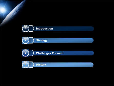 Earth From Space PowerPoint Template Slide 3