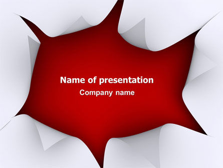 Paper PowerPoint Template, 03005, Abstract/Textures — PoweredTemplate.com
