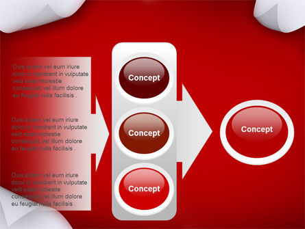 Paper PowerPoint Template Slide 11