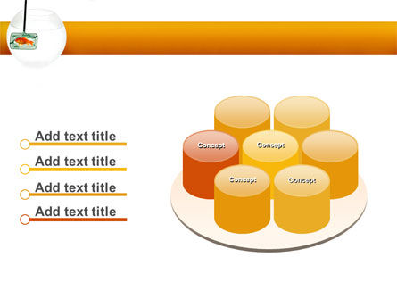 Goldfish In The Nets PowerPoint Template Slide 12