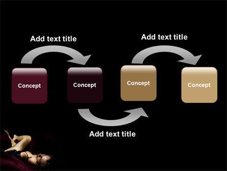 Sexy PowerPoint Template, Slide 4, 03012, Art & Entertainment — PoweredTemplate.com