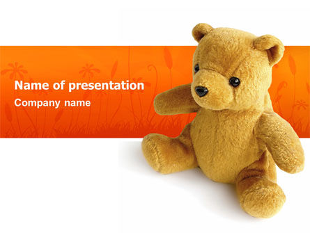 Holiday/Special Occasion: Toy PowerPoint Template #03013