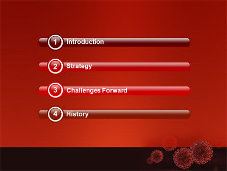 Red Corpuscles PowerPoint Template, Slide 3, 03014, Medical — PoweredTemplate.com