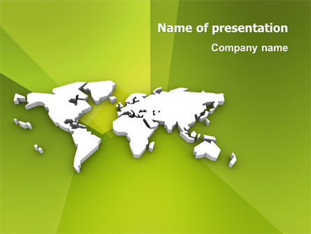 Whole World PowerPoint Template