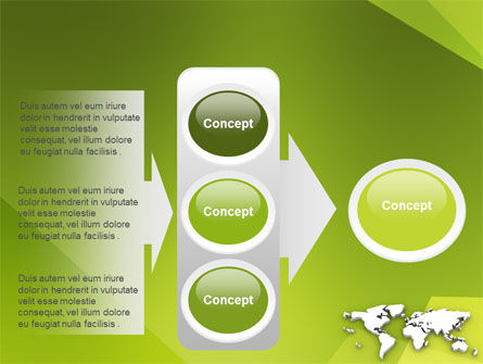 Whole World PowerPoint Template Slide 11