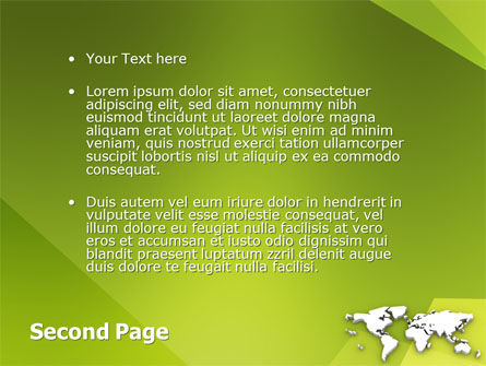Whole World PowerPoint Template Slide 2