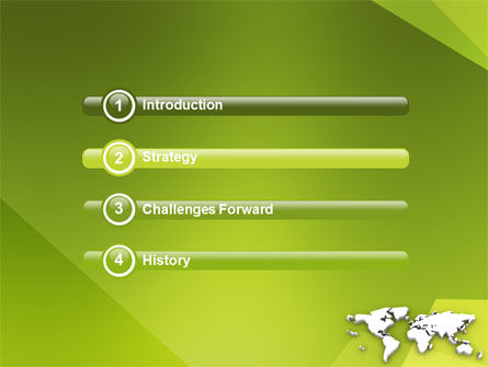 Whole World PowerPoint Template Slide 3