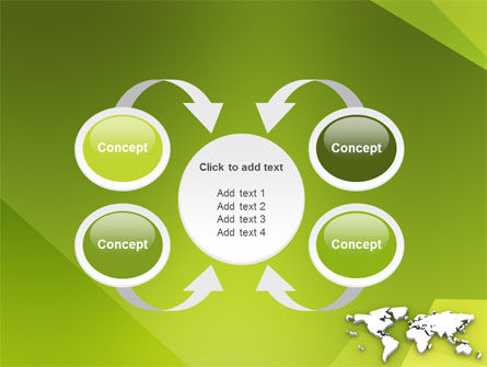 Whole World PowerPoint Template Slide 6