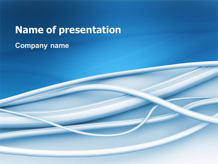 Telecommunication: Art Design PowerPoint Template #03016