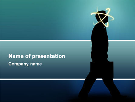 Business Concepts: Thoughts PowerPoint Template #03019