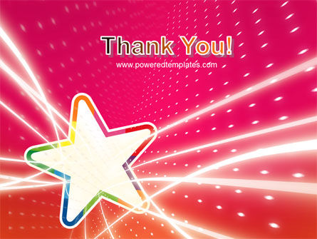 Disco Star PowerPoint Template Slide 20