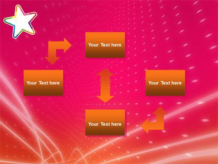 Disco Star PowerPoint Template, Slide 4, 03020, Art & Entertainment — PoweredTemplate.com