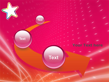 Disco Star PowerPoint Template Slide 6