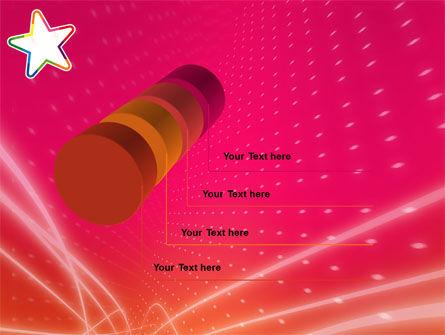 Disco Star PowerPoint Template Slide 7