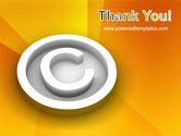 Copyright Sign PowerPoint Template#20