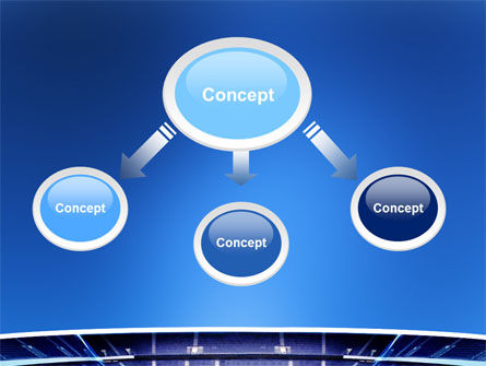 Stadium PowerPoint Template, Slide 4, 03022, Sports — PoweredTemplate.com