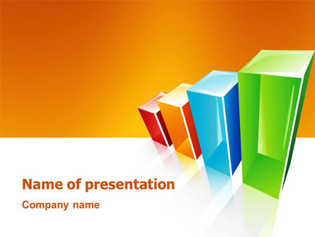 Rating Histogram PowerPoint Template