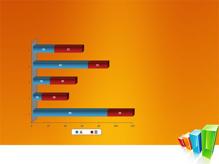 Rating Histogram PowerPoint Template Slide 11