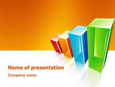 Business Concepts: Rating Histogram PowerPoint Template #03026