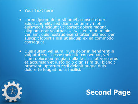 Running PowerPoint Template Slide 2