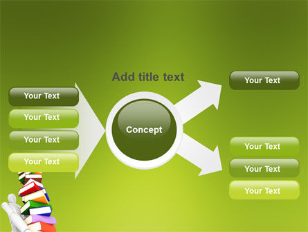 Books Stack In Hands PowerPoint Template Slide 14