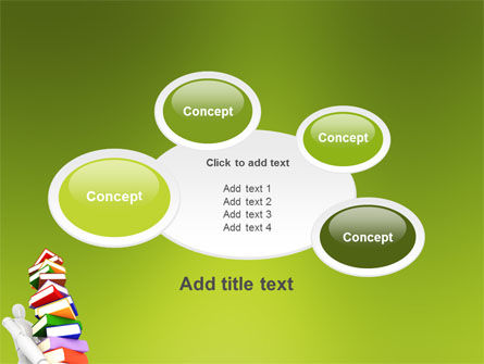 Books Stack In Hands PowerPoint Template Slide 16