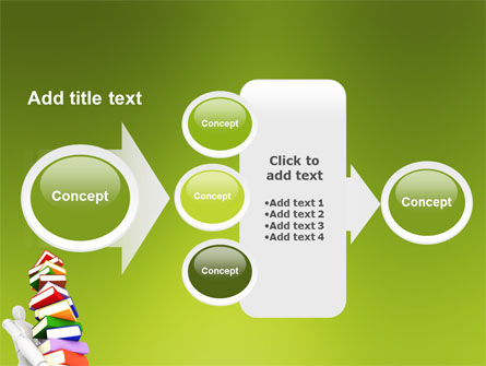 Books Stack In Hands PowerPoint Template Slide 17