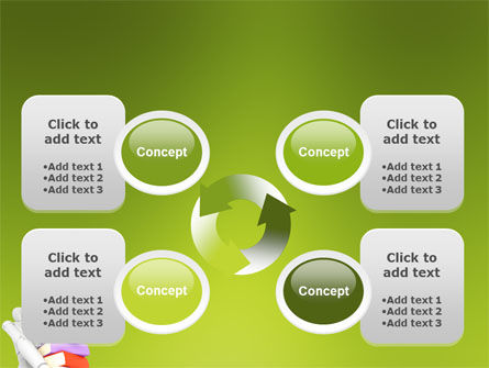 Books Stack In Hands PowerPoint Template Slide 9