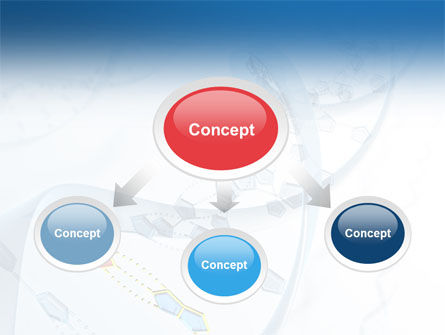 Genes PowerPoint Template, Slide 4, 03031, Technology and Science — PoweredTemplate.com
