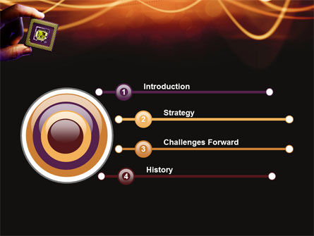 Processor PowerPoint Template, Slide 3, 03035, Technology and Science — PoweredTemplate.com