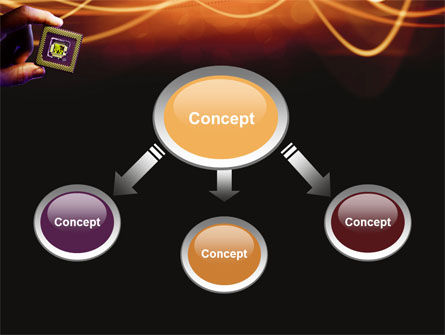 Processor PowerPoint Template, Slide 4, 03035, Technology and Science — PoweredTemplate.com