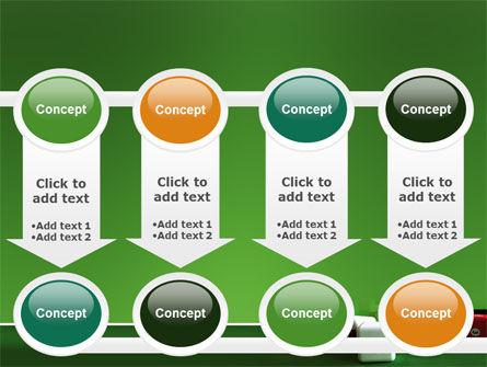 Cubic Billiard Balls PowerPoint Template Slide 18