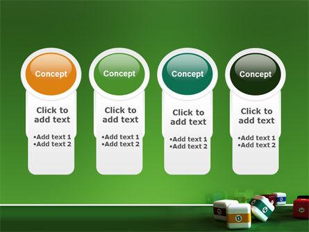 Cubic Billiard Balls PowerPoint Template Slide 5