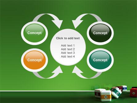 Cubic Billiard Balls PowerPoint Template Slide 6