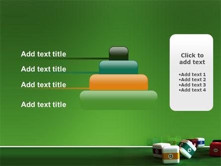 Cubic Billiard Balls PowerPoint Template Slide 8
