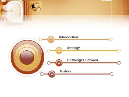 Bathroom PowerPoint Template Slide 3