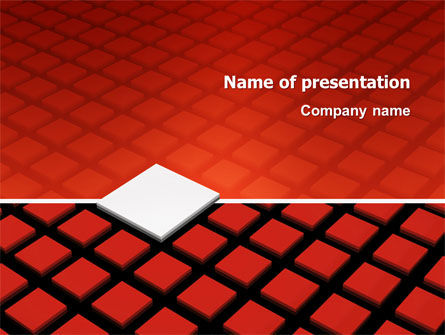 Pixel PowerPoint Template, 03040, Business Concepts — PoweredTemplate.com